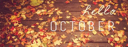 Hello October 2 Facebook Covers
