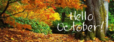 Nice Hello October Forest