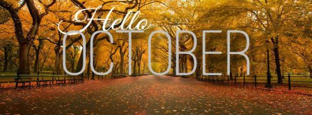 Hello October Park Facebook Covers