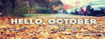 Hello October Street Facebook Covers