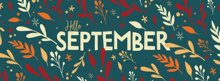 Hello September 1 Facebook Covers