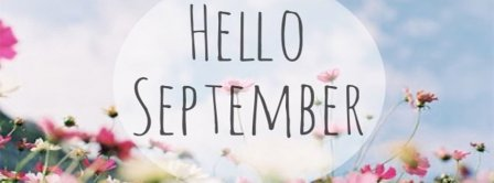 Hello September Facebook Covers