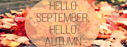 Hello September Hello Autumn