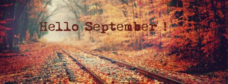 Hello September Woods Facebook Covers