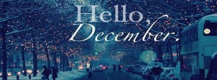 Hello Snowy December Facebook Covers