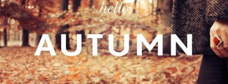 Hello Autumn Facebook Covers