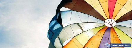 Hot Air Balloon Colors  Facebook Covers