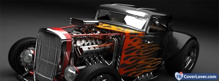 Hot Rod 1  Facebook Covers