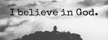 I Believe In God Facebook Covers