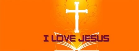 I Love Jesus 2 Facebook Covers