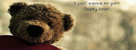 I Wanna Be Your Teddybear Facebook Covers