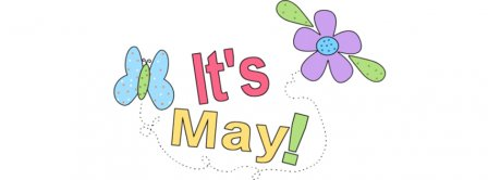 Its May!  Facebook Covers