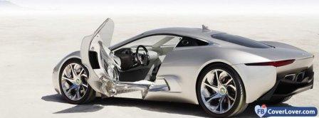 Jaguar C X75  Facebook Covers