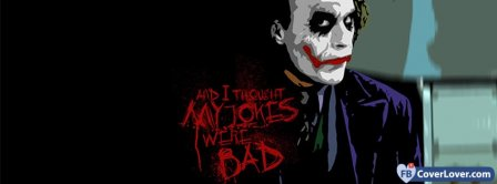 Joker Bad Jokes  Facebook Covers
