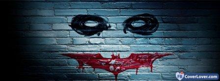 Joker Wall Paint With Batman Logo Facebook Covers