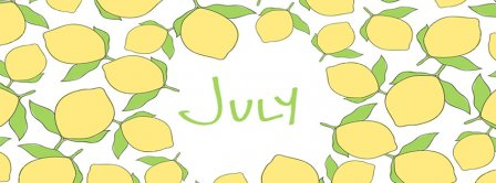July Lemons Facebook Covers