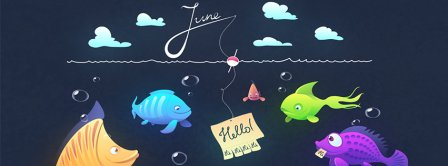 June Fishing Facebook Covers