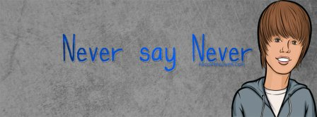 Justin Bieber Never Say Never Facebook Covers