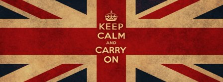 Keep Calm And Carry On Facebook Covers