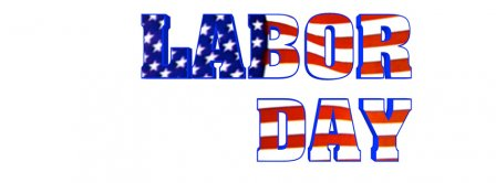 Labor Day Us Flag Facebook Covers