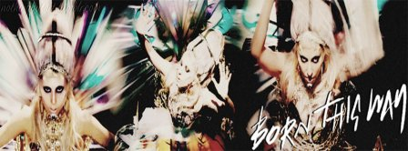 Lady Gaga Born This Way Facebook Covers