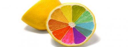 Colorful Lemon Facebook Covers