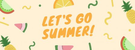 Let S Go Summer Facebook Covers
