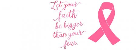 Let Your Faith Be Bigger Than Your Faith Facebook Covers