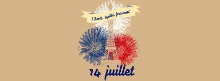 Liberte Egalite Fraternite 14 Juillet Facebook Covers