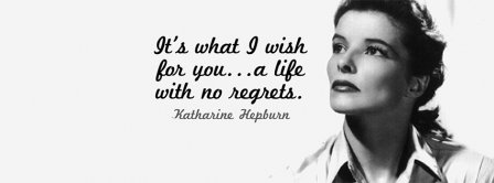 Life With No Regrets Facebook Covers