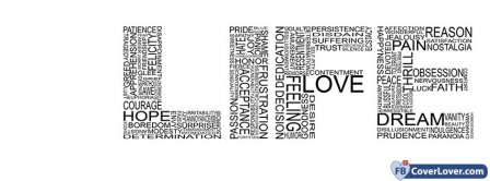 Life In 4 Letters  Facebook Covers