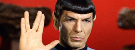 Live Long And Prosper Spock Startrek Facebook Covers