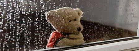 Love Failure Sad Teddy Waiting Facebook Covers