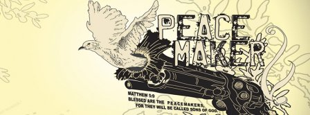 Make Peace  Facebook Covers
