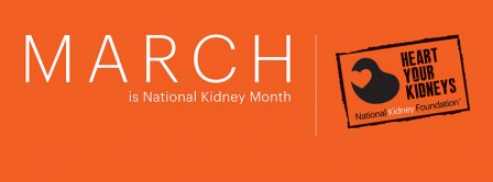 March Kidney Month Banner Facebook Covers