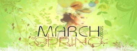 March Spring Season Facebook Covers