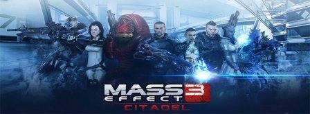 Mass Effect 3 Citadel Facebook Covers