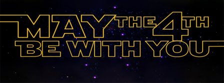 May The 4th Be With You Stars Facebook Covers