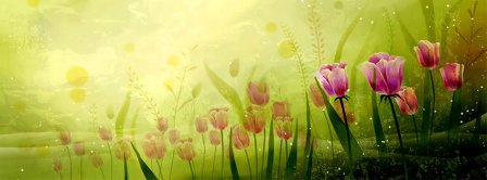 May Spring Facebook Covers