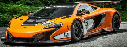 Mclaren 650s Gt3 Facebook Covers