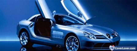 Mercedes Benz SLR Facebook Covers