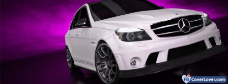 Mercedes Benz C63  Facebook Covers