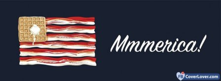 Mmmerica Flag Facebook Covers
