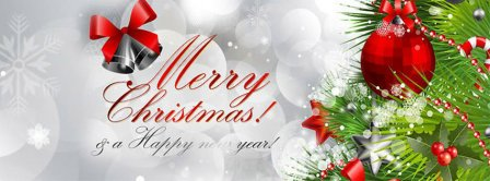 Merry Christmas And A Happy New Year Facebook Covers