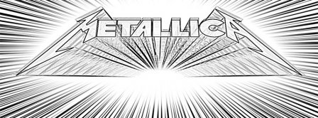 Metallica Drawing Logo Facebook Covers