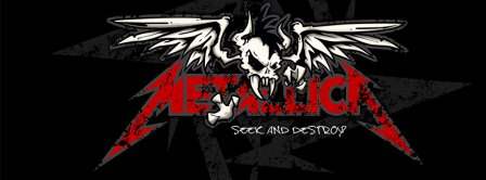 Metallica Seek And Destroy  Facebook Covers