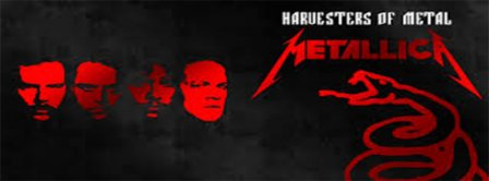 Metallica Harvesters of Metal Facebook Covers