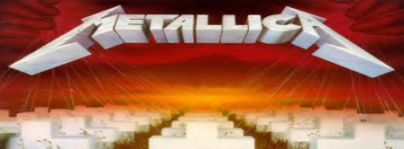 Metallica Master Of Puppets  Facebook Covers