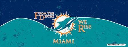 Miami Dolphins 2 Facebook Covers