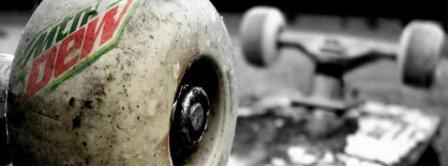 Mountain Dew 2 Skateboarding Facebook Covers